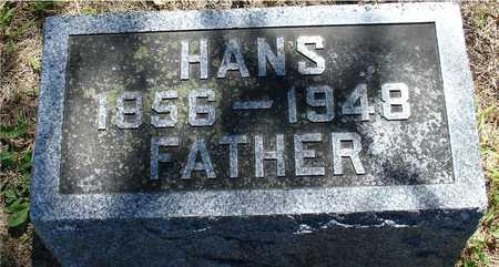 MANGELS, HANS - Ida County, Iowa | HANS MANGELS