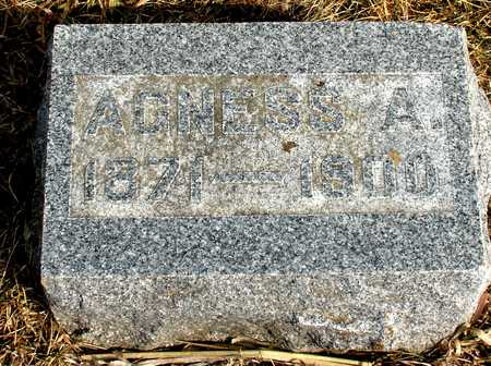 MANN, AGNESS A. - Ida County, Iowa | AGNESS A. MANN