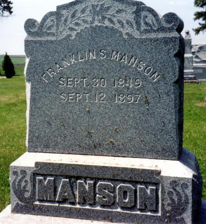 MANSON, FRANKLIN S. - Ida County, Iowa | FRANKLIN S. MANSON