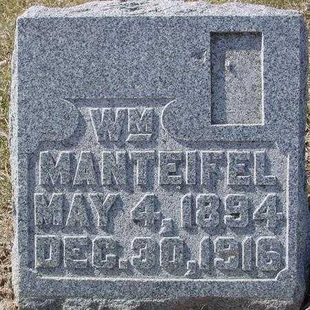 MANTEIFEL, WILLIAM - Ida County, Iowa | WILLIAM MANTEIFEL