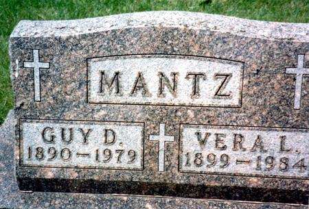 MANTZ, GUY D. - Ida County, Iowa   GUY D. MANTZ