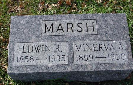 MARSH, EDWIN & MINERVA - Ida County, Iowa | EDWIN & MINERVA MARSH