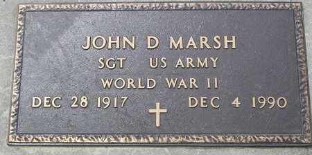MARSH, JOHN D. - Ida County, Iowa | JOHN D. MARSH