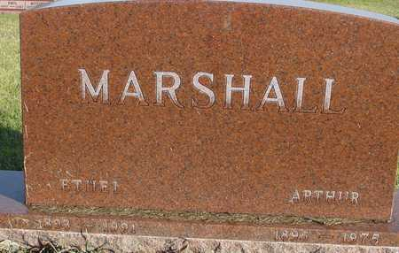 MARSHALL, ARTHUR & ETHEL - Ida County, Iowa   ARTHUR & ETHEL MARSHALL