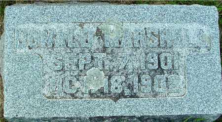 MARSHALL, DONALD - Ida County, Iowa | DONALD MARSHALL