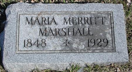 MARSHALL, MARIA - Ida County, Iowa | MARIA MARSHALL