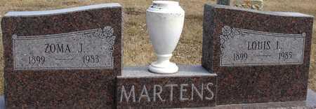 MARTENS, LOUIS L. & ZOMA J. - Ida County, Iowa   LOUIS L. & ZOMA J. MARTENS