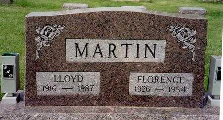 MARTIN, FLORENCE - Ida County, Iowa | FLORENCE MARTIN