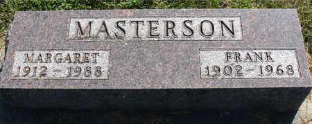 MASTERSON, FRANK & MARGARET - Ida County, Iowa | FRANK & MARGARET MASTERSON