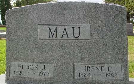 MAU, ELDON & IRENE E. - Ida County, Iowa   ELDON & IRENE E. MAU