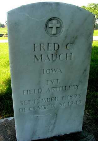 MAUCH, FRED C. - Ida County, Iowa | FRED C. MAUCH