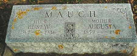 MAUCH, GUSTAV & AUGUSTA - Ida County, Iowa   GUSTAV & AUGUSTA MAUCH