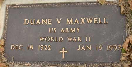 MAXWELL, DUANE V. - Ida County, Iowa | DUANE V. MAXWELL