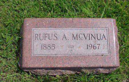MC VINUA, RUFUS A. - Ida County, Iowa   RUFUS A. MC VINUA