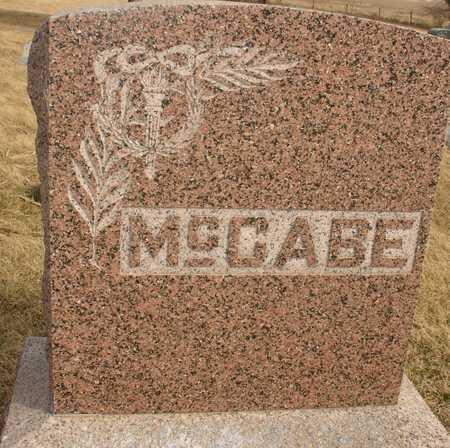 MCCABE, FAMILY MARKER - Ida County, Iowa | FAMILY MARKER MCCABE