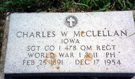 MCCLELLAN, CHARLES W. - Ida County, Iowa | CHARLES W. MCCLELLAN