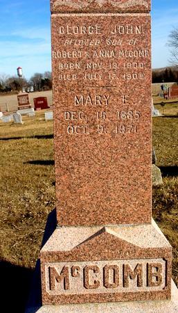 MCCOMB, GEORGE JOHN - Ida County, Iowa | GEORGE JOHN MCCOMB