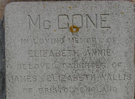 MCCONE, ELIZABETH - Ida County, Iowa | ELIZABETH MCCONE
