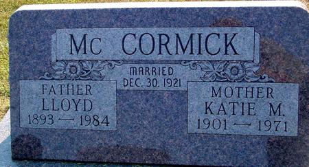 MCCORMICK, LLOYD & KATIE - Ida County, Iowa | LLOYD & KATIE MCCORMICK