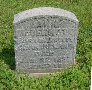 MCDERMOTT, ANN - Ida County, Iowa   ANN MCDERMOTT