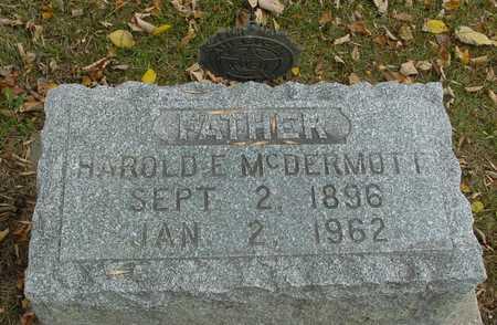 MCDERMOTT, HAROLD E. - Ida County, Iowa | HAROLD E. MCDERMOTT