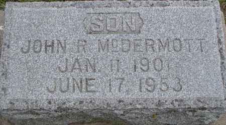 MCDERMOTT, JOHN R. - Ida County, Iowa | JOHN R. MCDERMOTT
