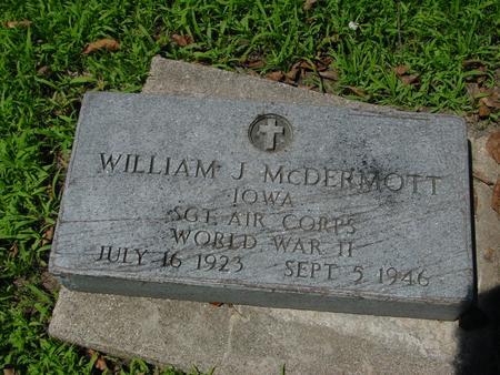 MCDERMOTT, WILLIAM J. - Ida County, Iowa | WILLIAM J. MCDERMOTT