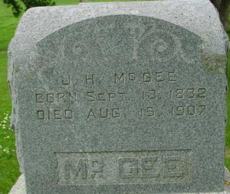MCGEE, J. H. - Ida County, Iowa   J. H. MCGEE