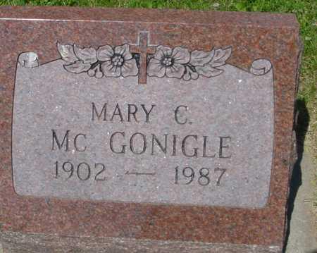 MCGONIGLE, MARY C. - Ida County, Iowa | MARY C. MCGONIGLE