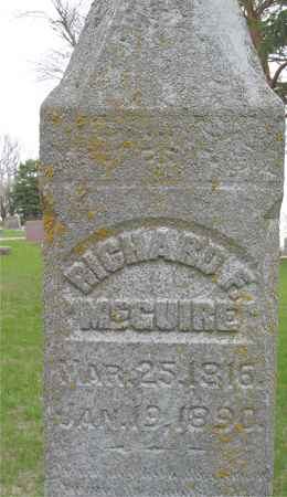 MCGUIRE, RICHARD F. - Ida County, Iowa | RICHARD F. MCGUIRE