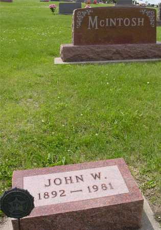 MCINTOSH, JOHN W. - Ida County, Iowa | JOHN W. MCINTOSH