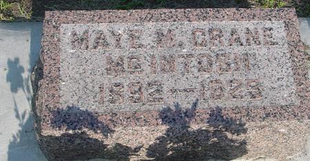 MCINTOSH, MAYE M. - Ida County, Iowa | MAYE M. MCINTOSH