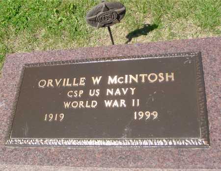 MCINTOSH, ORVILLE W. - Ida County, Iowa | ORVILLE W. MCINTOSH