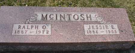 MCINTOSH, RALPH & JESSIE - Ida County, Iowa | RALPH & JESSIE MCINTOSH