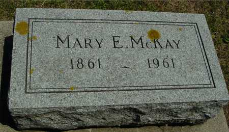 MCKAY, MARY E. - Ida County, Iowa | MARY E. MCKAY