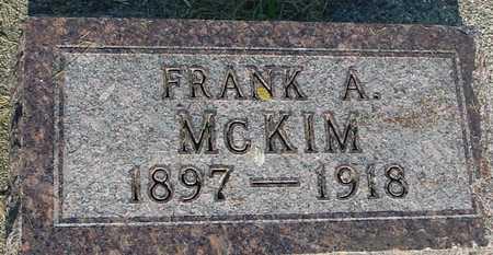 MCKIM, FRANK A. - Ida County, Iowa   FRANK A. MCKIM