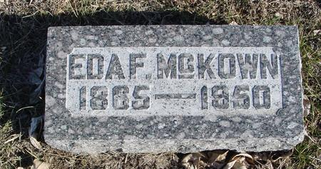 MCKOWN, EDA F. - Ida County, Iowa | EDA F. MCKOWN