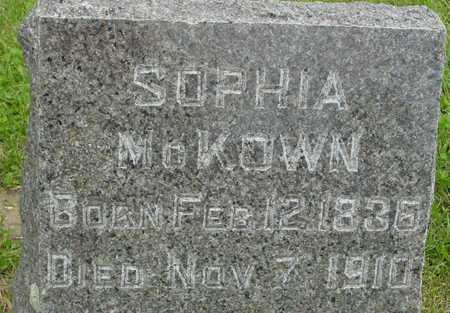 MCKOWN, SOPHIA - Ida County, Iowa | SOPHIA MCKOWN