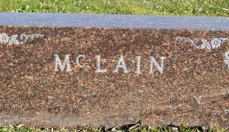 MCLAIN, BEN & IDA - Ida County, Iowa | BEN & IDA MCLAIN
