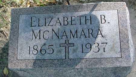 MCNAMARA, ELIZABETH B. - Ida County, Iowa | ELIZABETH B. MCNAMARA