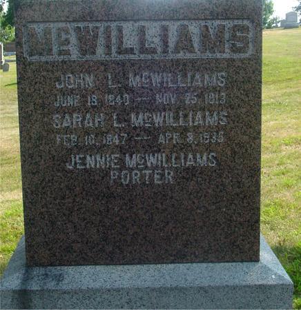 MCWILLIAMS, JOHN & SARAH - Ida County, Iowa | JOHN & SARAH MCWILLIAMS