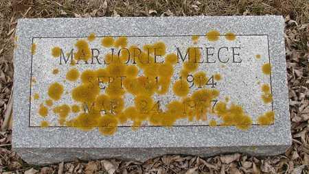 MEECE, MARJORIE - Ida County, Iowa | MARJORIE MEECE