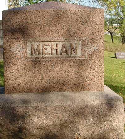 MEHAN, FAMILY MARKER - Ida County, Iowa | FAMILY MARKER MEHAN