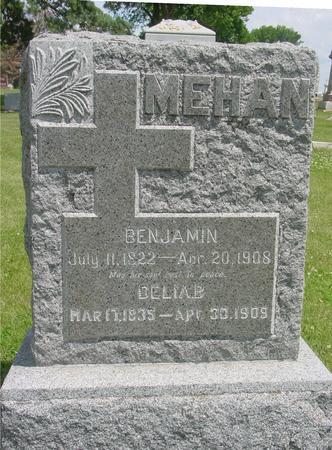 MEHAN, BENJAMIN - Ida County, Iowa | BENJAMIN MEHAN