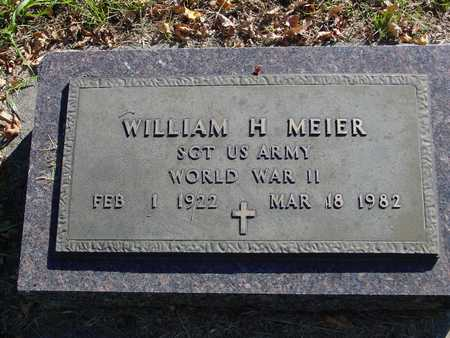 MEIER, WILLIAM H. - Ida County, Iowa | WILLIAM H. MEIER