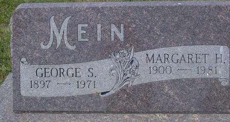 MEIN, GEORGE & MARGARET - Ida County, Iowa | GEORGE & MARGARET MEIN