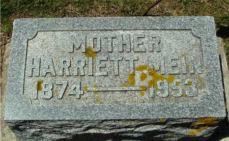 MEIN, HARRIETT - Ida County, Iowa | HARRIETT MEIN