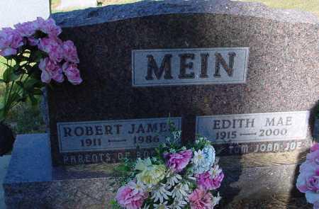 MEIN, ROBERT & EDITH - Ida County, Iowa | ROBERT & EDITH MEIN