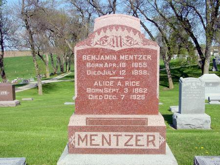 MENTZER, BENJAMIN - Ida County, Iowa | BENJAMIN MENTZER
