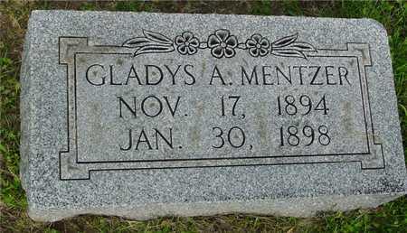 MENTZER, GLADYS A. - Ida County, Iowa | GLADYS A. MENTZER